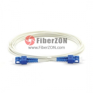 Duplex Singlemode 9/125 OS2, FRP Strength Member, LSZH Selfsupporting Indoor FTTH Fiber Patch Cable